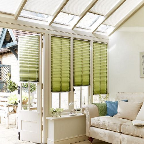 Aspen Blinds Pleated Blinds