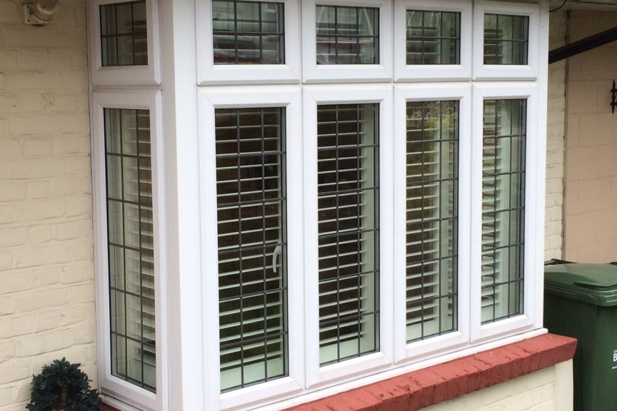 Aspen Shutters Bay Window Barnehurst
