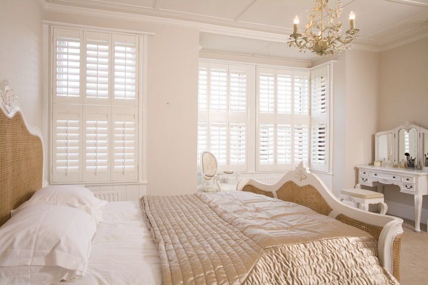 Aspen Tier on Tier Wooden Shutters Crayford